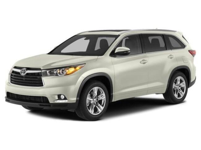 2014 Toyota Highlander Limited Platinum V6 SUV