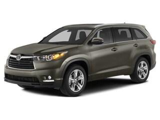 2014 Toyota Highlander XLE V6 SUV For Sale in Marion, OH