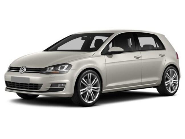 2014 Volkswagen Golf TDI w/Sunroof & Nav Hatchback
