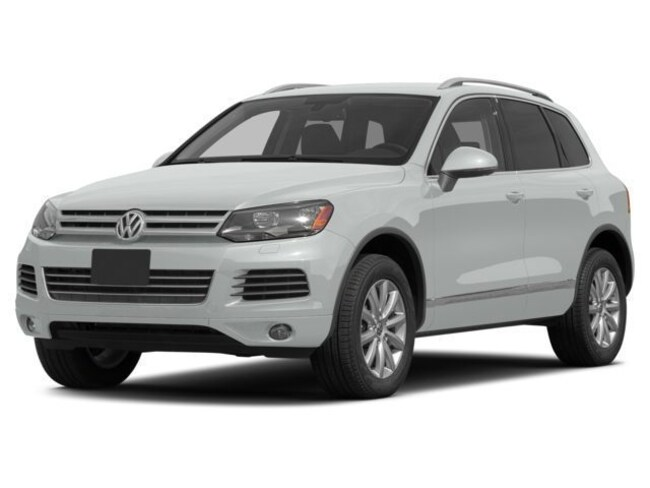 used 2014 white volkswagen touareg lux for sale in bend or
