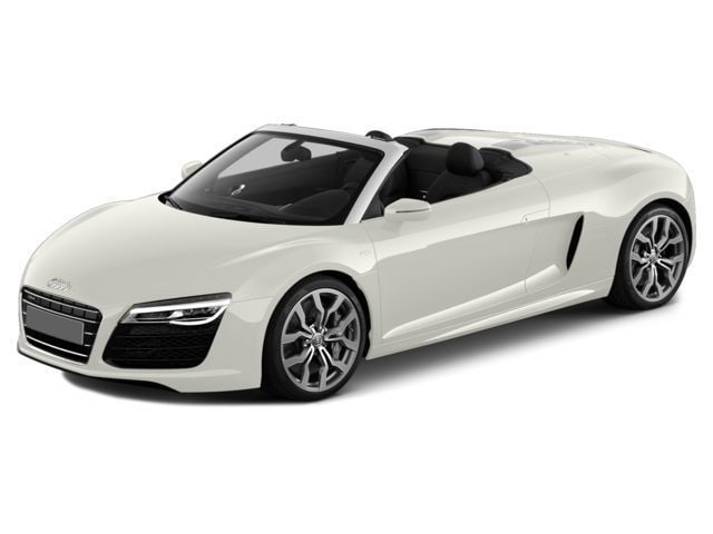 2015 Audi R8 V8 quattro Spyder, Bang & Olufsen, Black Optic Convertible