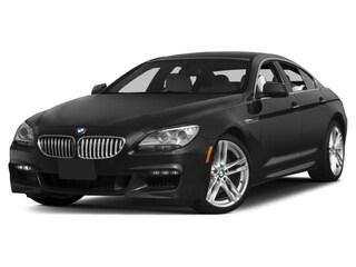 2015 BMW 640 Gran Coupe i Rear-wheel Drive Sedan