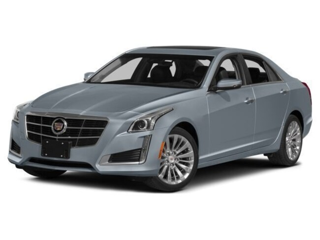 Pre-Owned 2015 CADILLAC CTS 3.6L Luxury Sedan For Sale Lubbock, TX