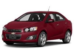 2015 Chevrolet Sonic LT Manual w/ Back Up Sedan