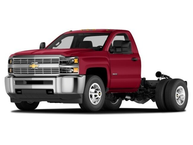 Used 2015 Chevrolet Silverado 3500HD Chassis For Sale at