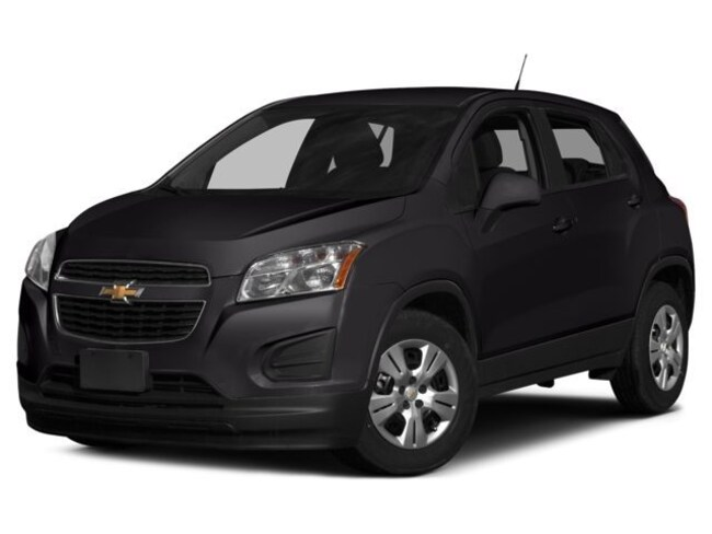 Used 2015 Chevrolet Trax LS for sale near Boston, MA at Muzi Ford
