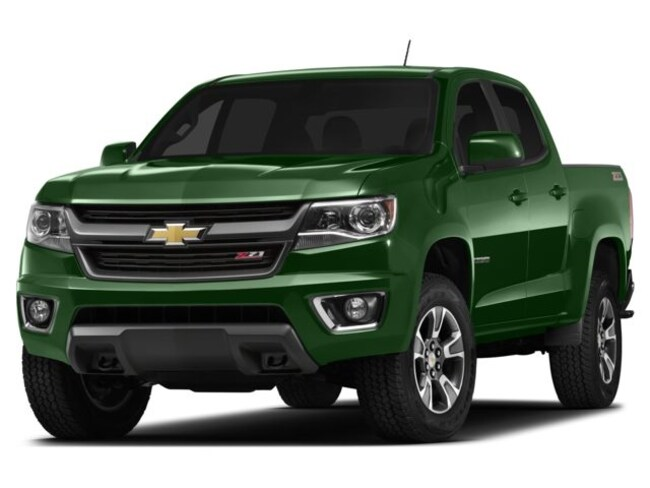 Used 2015 Chevrolet Colorado Truck Crew Cab Rainforest Green For