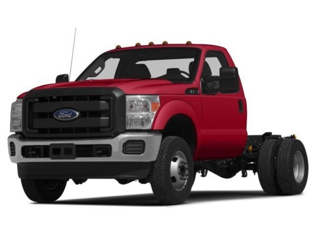 2015 Ford F-350 Dually Diesel Spike BED Cab; Regular; Chassis