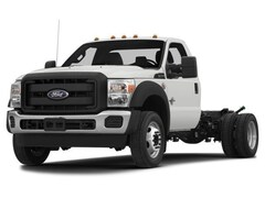 2015 Ford F-550SD XL w/9ft Rugby Dump 4WD Truck