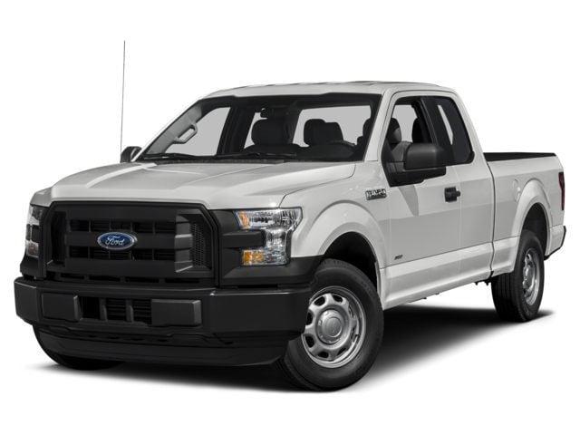 2015 Ford F-150 4x4 Supercab XL Pickup Truck