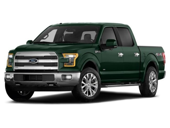 2015 Ford F-150 Lariat Truck SuperCrew Cab