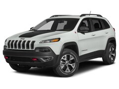 Used 2015 Jeep Cherokee Trailhawk SUV for sale in Marietta, OH