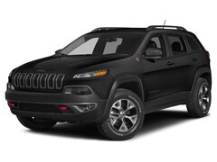 Used 2015 Jeep Cherokee Trailhawk 4x4 SUV 1C4PJMBS7FW661242 for Sale in Plymouth, IN at Auto Park Buick GMC