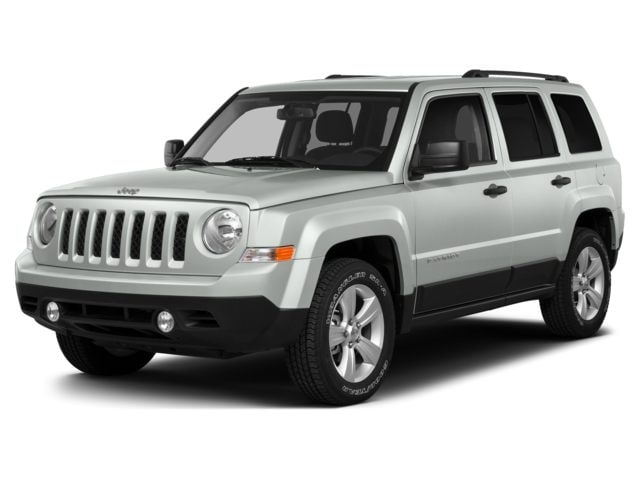 White jeep patriot