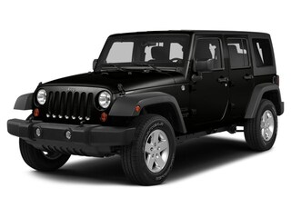 Certified Pre-Owned 2015 Jeep Wrangler Unlimited Sport 4x4 SUV Tucson