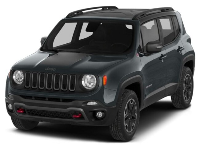 Used 2015 Jeep Renegade Trailhawk 4x4 SUV in St. Paul, MN