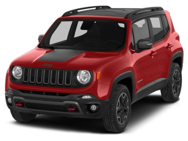 Used 2015 Jeep Renegade Trailhawk 4x4 SUV in Westborough, MA