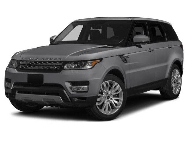 Certified Pre-Owned 2015 Land Rover Range Rover Sport 5.0L V8 Supercharged Dynamic SUV For Sale Dallas, Texas