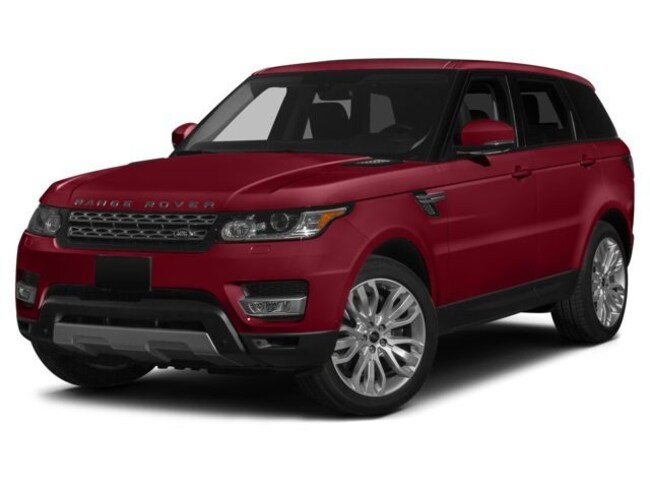 Certified 2015 Land Rover Range Rover Sport 5.0L V8 Supercharged Autobiography SUV in Farmington Hills, MI
