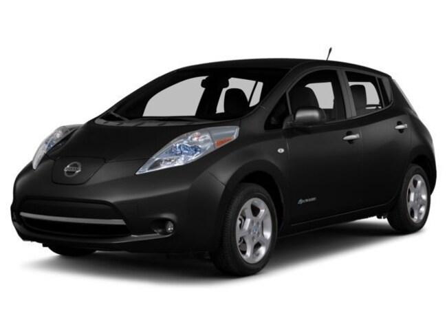 Used 2015 Nissan Leaf SL Hatchback for sale Tinley Park, IL