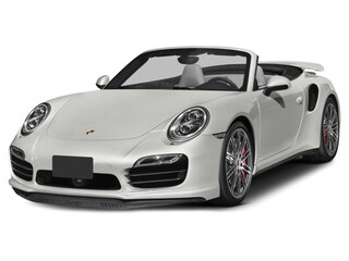 Certified Pre-Owned 2015 Porsche 911 Turbo White Cabriolet for sale in Houston, TX