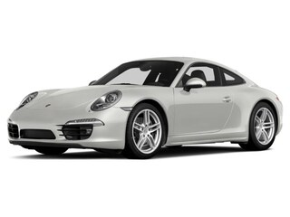 Certified Pre-Owned 2015 Porsche 911 Carrera 4 2dr Cpe White Coupe for sale in Houston, TX
