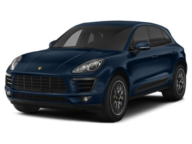 Certified Pre-Owned 2015 Porsche Macan S SUV for sale in Irondale, AL