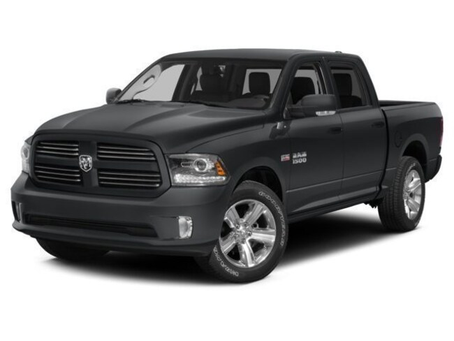 Certified pre-owned 2015 Ram 1500 SLT Truck Crew Cab for sale in Morrilton, AR