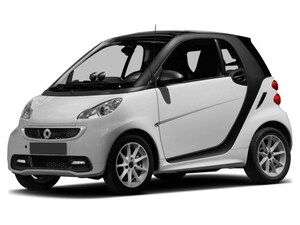 2015 Smart Fortwo Electric Drive Passion 2D Coupe