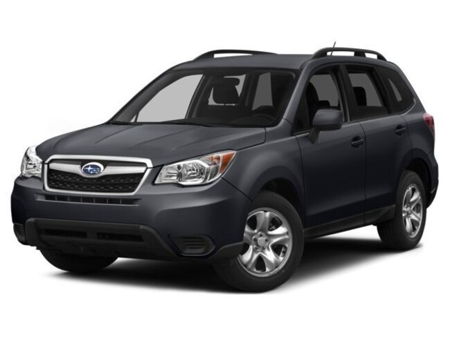 Used 2015 Subaru Forester 2.5I Premium  AWD /  Moon Roof / 6-SPD. Manual SUV in Somersworth, NH