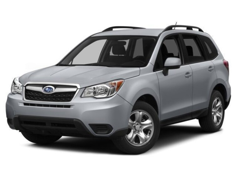Certified Used 2015 Subaru Forester 25i Premium CVT SUV In Green Bay