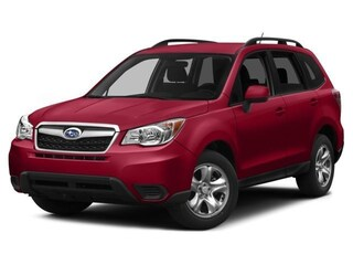 Certified Pre-Owned 2015 Subaru Forester 2.5i Premium (CVT) SUV JF2SJADC3FH819631 for Sale in Glen Burnie near Baltimore