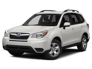 Used 2015 Subaru Forester 2.5i Premium (CVT) SUV JF2SJAFC0FH815615 in Dover, Delaware, at Winner Subaru