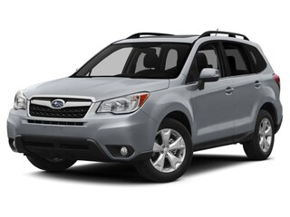 Certified Pre-Owned 2015 Subaru Forester 2.5i Limited SUV near Raleigh & Durham, NC