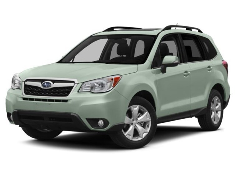 Certified Used 2015 Subaru Forester 2.5i Touring (CVT) SUV In Green Bay