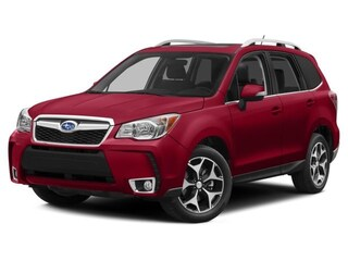 Certified Pre Owned 2015 Subaru Forester 2.0XT Touring (CVT) SUV JF2SJGWC0FH806142 for Sale in Victor near Rochester, NY