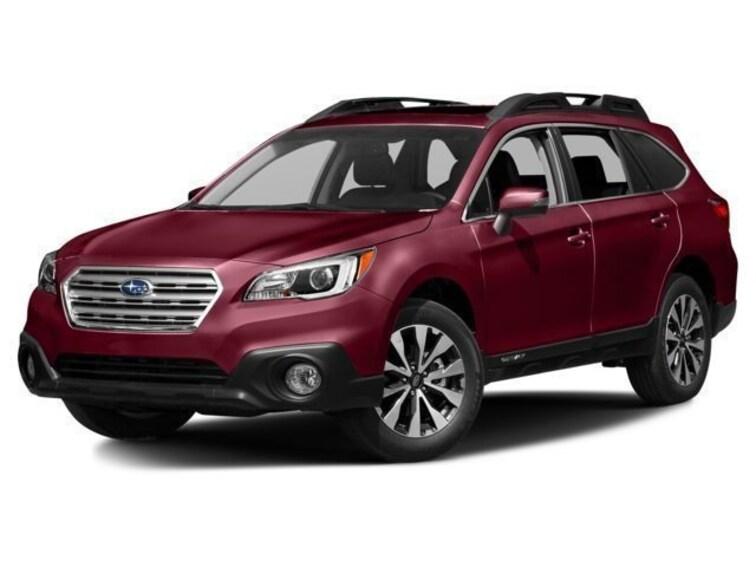 Certified Used  2015 Subaru Outback 2.5i Limited w/Moonroof/KeylessAccess/Nav/EyeSight SUV near Baltimore