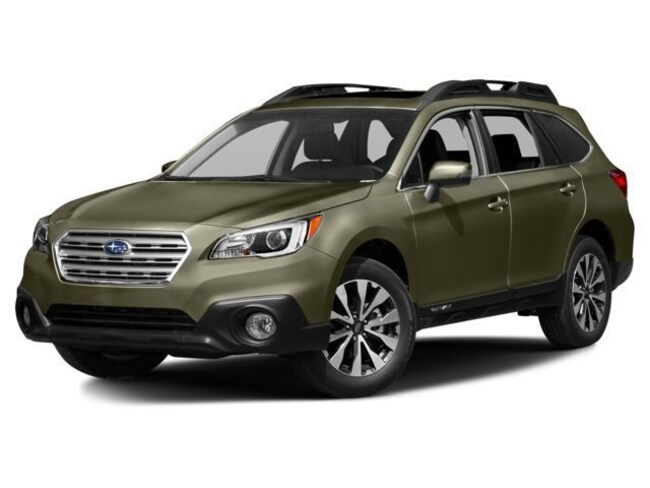Certified Used 2015 Subaru Outback 2.5i Limited SUV In Green Bay