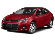 2015 Toyota Corolla S Premium Sedan