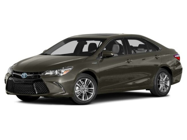 Certified Pre-Owned 2015 Toyota Camry Hybrid LE Sedan For Sale Miamisburg, OH