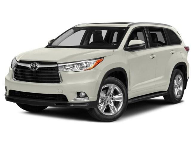 Toyota Of The Desert >> Used 2015 Toyota Highlander For Sale At Acura Of The Desert Vin