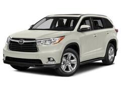 2015 Toyota Highlander Limited AWD SUV