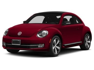 Used 2015 Volkswagen Beetle 1.8T w/Sunroof/PZEV Coupe for Sale in Greenville NC at Joe Pecheles Volkswagen