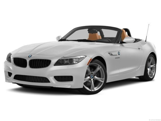 2016 Pre Owned Bmw Z4 Sdrive35is Roadster Sdrive35is Mineral White