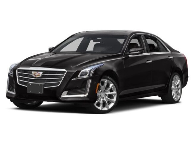 Pre-Owned 2016 CADILLAC CTS 2.0L Turbo Premium Collection Sedan For Sale Lubbock, TX