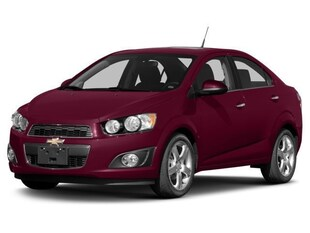 2016 Chevrolet Sonic LTZ Sedan