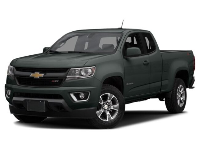2016 Chevrolet Colorado Z71 Extended Cab Long Bed Truck