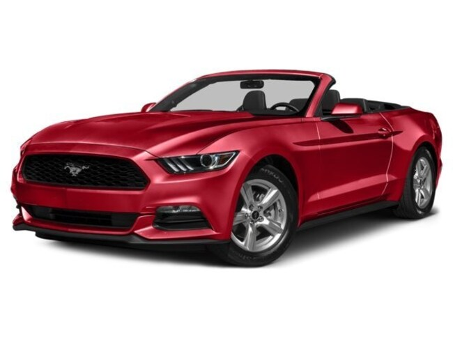 Used 2016 Ford Mustang Ecoboost Premium Convertible in Johnston, RI