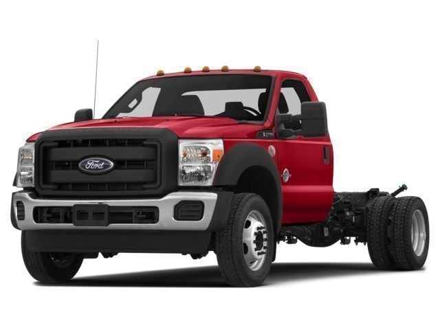 2016 Ford F-550 Chassis Truck Regular Cab