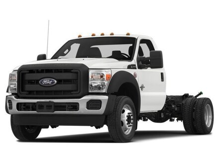 2016 Ford F-550 Chassis Cab XLT Chassis Truck